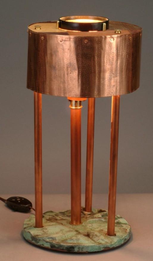 Copper Circle Lamp | arch art